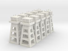 Air Base Tower x10 in White Strong & Flexible