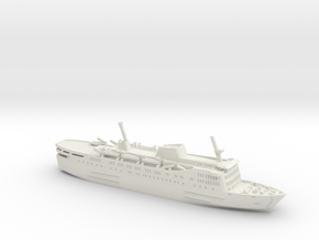Express Olympia (1:1200) in White Natural Versatile Plastic: 1:1200