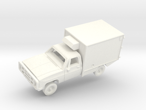 M1010 CUCV Ambulance in White Strong & Flexible Polished: 1:200
