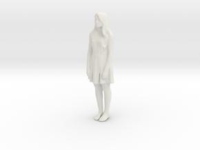 Printle C Femme 735 - 1/32 - wob in White Natural Versatile Plastic