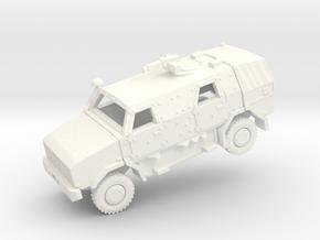 ATF DINGO2 Armored Car  in White Processed Versatile Plastic: 1:160 - N