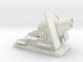 Mortier de 280 mm Schneider 1 56 ww1 artillery 28m in White Natural Versatile Plastic