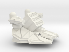 DF-1-72 TANK TURRET MISSILE ART in White Natural Versatile Plastic