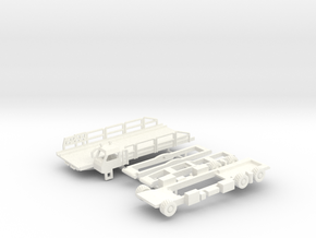 Halvorsen 25K Aircraft Loader in White Processed Versatile Plastic: 1:200
