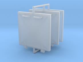 S100 Luken und Compas 1 to 35 in Smooth Fine Detail Plastic