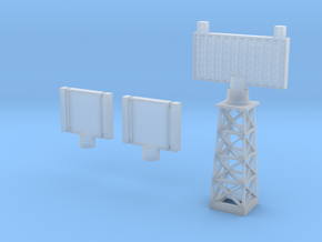Malta 600 Radars in Smooth Fine Detail Plastic
