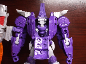 Transforming Neck Unit for TR Galvatron in Smooth Fine Detail Plastic