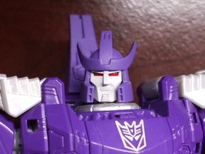 Alternate Head (2.0) for Titans Return Galvatron in Smooth Fine Detail Plastic