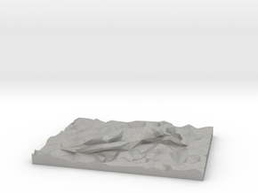 Sleeping Beauty Lowpoly in Aluminum: Extra Small