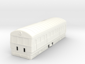 Plarail Daisy Body in White Processed Versatile Plastic