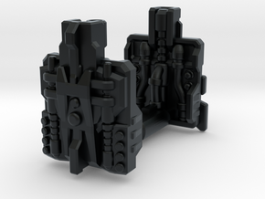 POTP Compatible Overlord Powermaster Plates in Black Hi-Def Acrylate