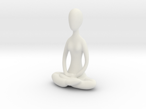 Yoga Lotus  in White Strong & Flexible