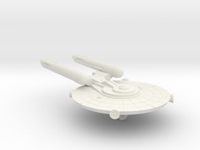 3788 Scale Federation New Scout Cruiser WEM in White Natural Versatile Plastic