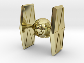 TI-Fighter in 18k Gold