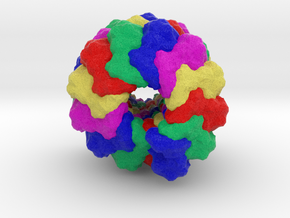 Measles Virus in Full Color Sandstone
