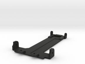Tamiya Thundershot Rear Skid Plate in Black Natural Versatile Plastic