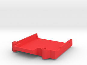 Tamiya Thundershot Custom ESC Tray in Red Processed Versatile Plastic