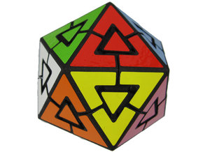 Rob's Icosahedron in White Strong & Flexible