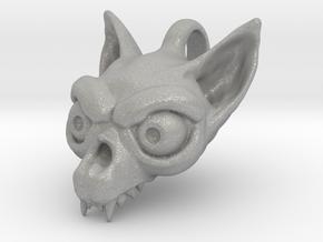 Bat Skull in Aluminum