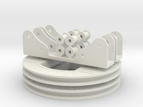 N Coal Rotary Dumper Kit 2 of 2 in White Natural Versatile Plastic