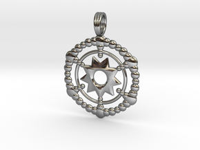 WALK OF LIFE in Fine Detail Polished Silver