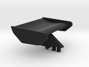 rear wing Ferrari 312 b3 in Black Natural Versatile Plastic