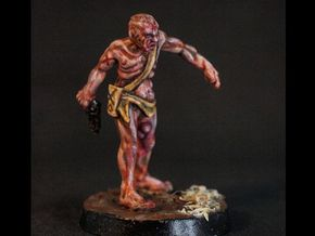 O'Liver - 28mm Mutant Cultist in Smooth Fine Detail Plastic