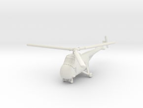 Sikorsky H-19B/D Chickasaw (S-55) 1/285 6mm in White Natural Versatile Plastic