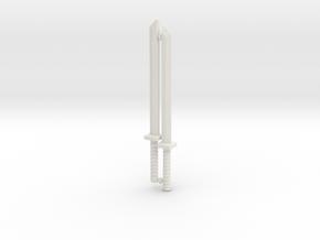 Shinobi Blade Set for ModiBot in White Premium Strong & Flexible