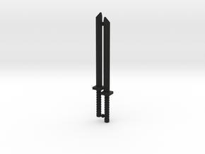 Shinobi Blade Set for ModiBot in Black Premium Strong & Flexible