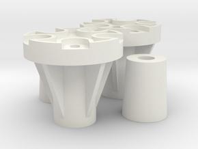 Tamiya adapter set for Marui Big Bear in White Natural Versatile Plastic
