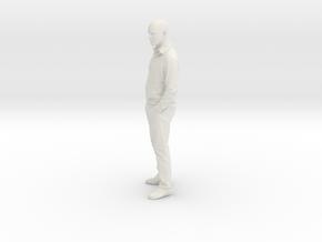 Printle C Homme 013 - 1/22.5 - wob in White Natural Versatile Plastic