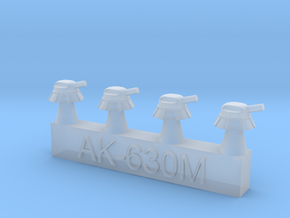 1700 AK-630M CIWS Turrets in Smoothest Fine Detail Plastic