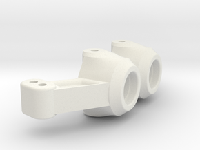 TC4 Steering Hub for DCV/DCJ Conversion in White Strong & Flexible