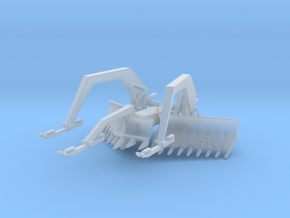 1/160 Scale M1 ABV Mine Plow in Smooth Fine Detail Plastic