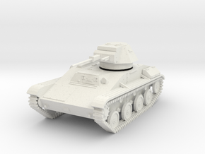 PV196A T-60 Light Tank (28mm) in White Natural Versatile Plastic