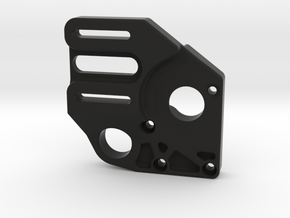Axial Yeti Motor Mount in Black Natural Versatile Plastic