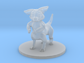 Wild Chihuahua (small canitaur) in Smooth Fine Detail Plastic