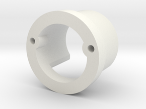 Chassis Adapter in White Strong & Flexible