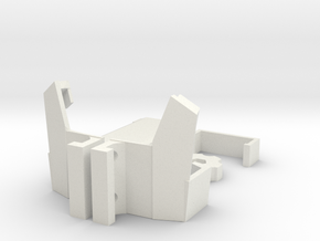 360 Camera Mount for Mavic Pro (Top Mount) in White Natural Versatile Plastic
