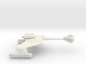 3125 Scale Romulan KR Heavy Cruiser (Smooth) WEM in White Natural Versatile Plastic