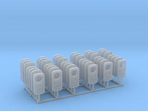 1/125 USN Watertight Doors w. handles SET in Smooth Fine Detail Plastic