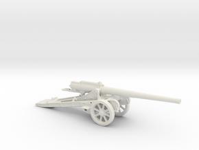 St. Chamond 155 mm Mle 1916 1/100 ww1 artillery  in White Natural Versatile Plastic