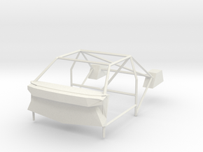 lancia delta intergrate rollcage in White Natural Versatile Plastic