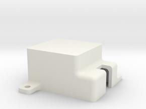 Pololu PWM Relay Enclosure Lid  in White Natural Versatile Plastic