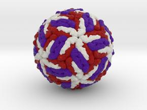 Tick-Borne Encephalitis Virus in Full Color Sandstone