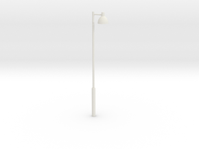 Louis Poulsen Toldbod 290 Pedestrian Pole Light in White Natural Versatile Plastic