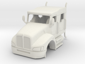 1/87 Kenworth Crew Cab  in White Natural Versatile Plastic