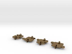 Pussel total in Natural Bronze (Interlocking Parts)