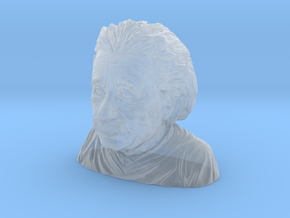 Albert Einstein Bust in Smooth Fine Detail Plastic: Small